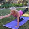 Karen Korona in Balancing Table Pose.