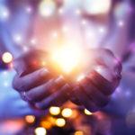 Goddess sharing The Light